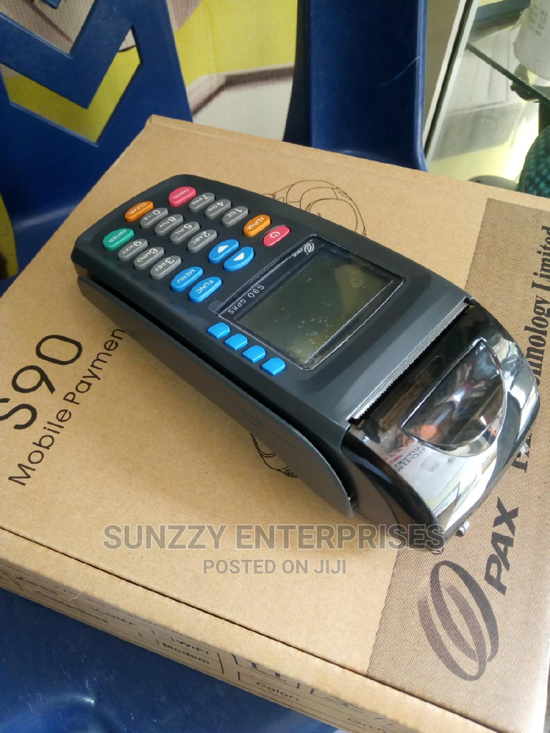 Brand New Pax S90 GPRS Payment POS Terminal - English Keypad | Store Equipment for sale in Ikeja, Lagos State, Nigeria
