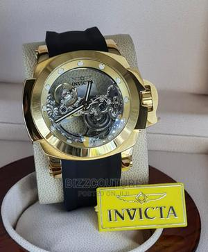 High Quality INVICTA Mechanical Rubber Watch for Men   Watches for sale in Lagos State, Magodo