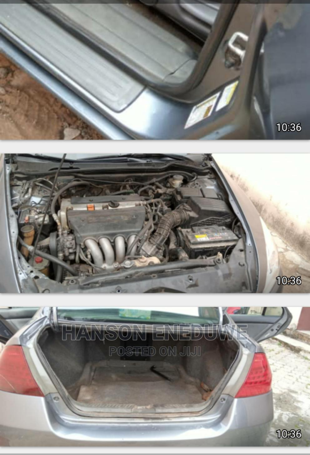 Honda Accord 2007 2.0 Comfort Automatic Gray   Cars for sale in Ajah, Lagos State, Nigeria