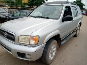 Nissan Pathfinder 2002 SE AWD SUV (3.5L 6cyl 4A) Silver | Cars for sale in Lagos State, Abule Egba