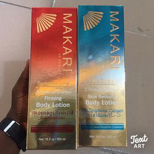 Makari De Suisse Blue Crystal Skin Reviving Bodylotion 500ml | Skin Care for sale in Lagos State, Ikorodu