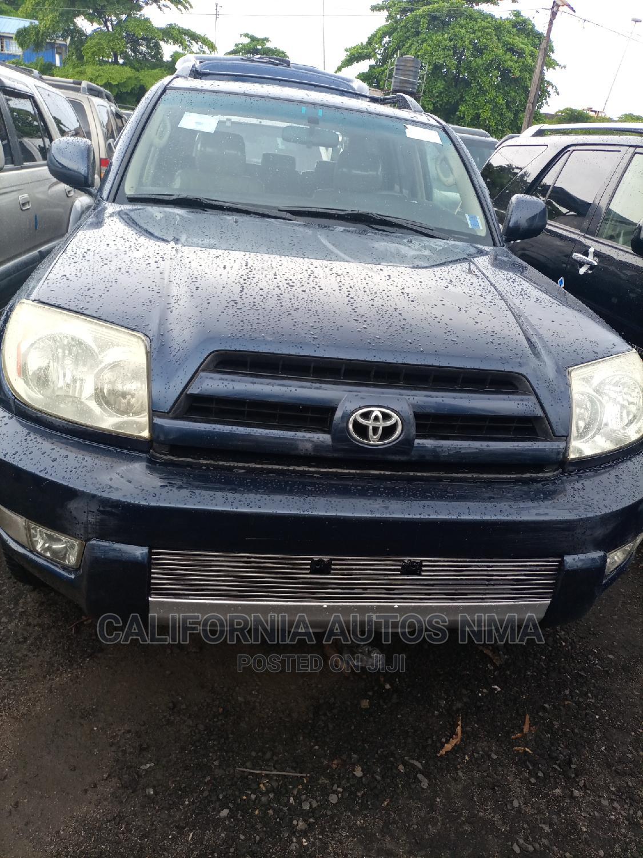 Archive: Toyota 4-Runner 2005 Limited V6 4x4 Blue
