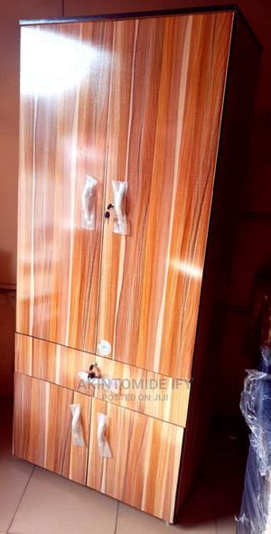 Brown Stripes Wardrobe   Furniture for sale in Lagos State, Ikeja