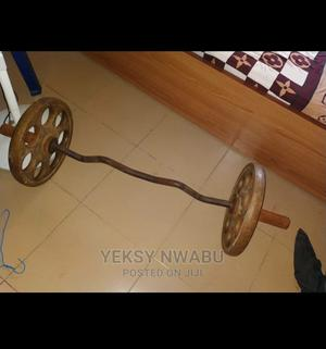 30kg Barbells Set Weight Lift | Sports Equipment for sale in Lagos State, Isolo