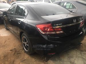 Honda Civic 2013 HF Sedan LX Black | Cars for sale in Lagos State, Isolo
