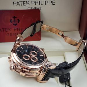 PATEK PHILIPPE Dual Face Leather Watch   Watches for sale in Lagos State, Lagos Island (Eko)