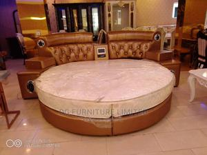 Leather Executive Bed With Stereo   Furniture for sale in Lagos State, Lekki