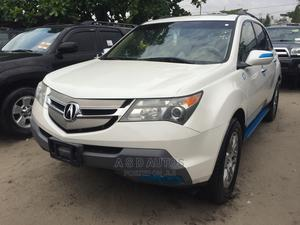 Acura MDX 2008 SUV 4dr AWD (3.7 6cyl 5A) White | Cars for sale in Lagos State, Amuwo-Odofin