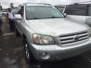 Toyota Highlander 2004 Limited V6 FWD Silver | Cars for sale in Lagos State, Amuwo-Odofin