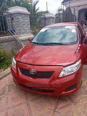 Toyota Corolla 2009 Red | Cars for sale in Abuja (FCT) State, Mabushi