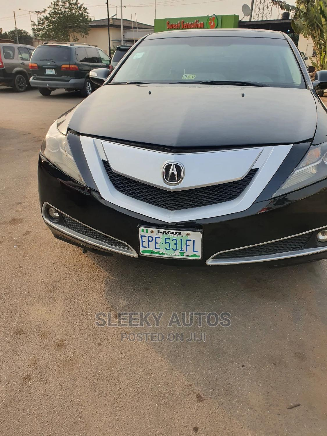 Acura ZDX 2011 Base AWD Black | Cars for sale in Ikeja, Lagos State, Nigeria
