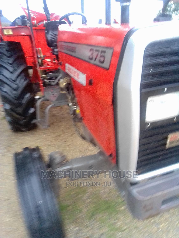 Tractors MF 375 Horse Power