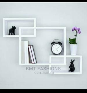 3pcs White Floating Wall Shelves   Home Accessories for sale in Lagos State, Ogba