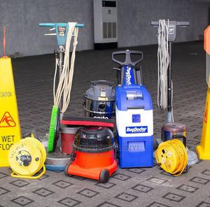 Machines for Rent With Operator | Cleaning Services for sale in Lagos State, Gbagada