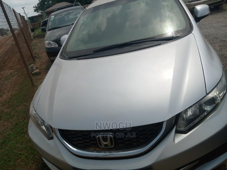 Honda Civic 2014 Silver