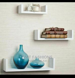3 U-Shapes Floating Wall Shelves   Home Accessories for sale in Lagos State, Ogba