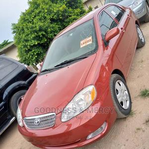 Toyota Corolla 2007 CE Red   Cars for sale in Lagos State, Ikeja