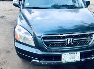 Honda Pilot 2004 LX 4x4 (3.5L 6cyl 5A) Gray | Cars for sale in Oyo State, Ibadan