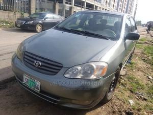 Toyota Corolla 2003 Sedan Automatic Gray   Cars for sale in Lagos State, Amuwo-Odofin