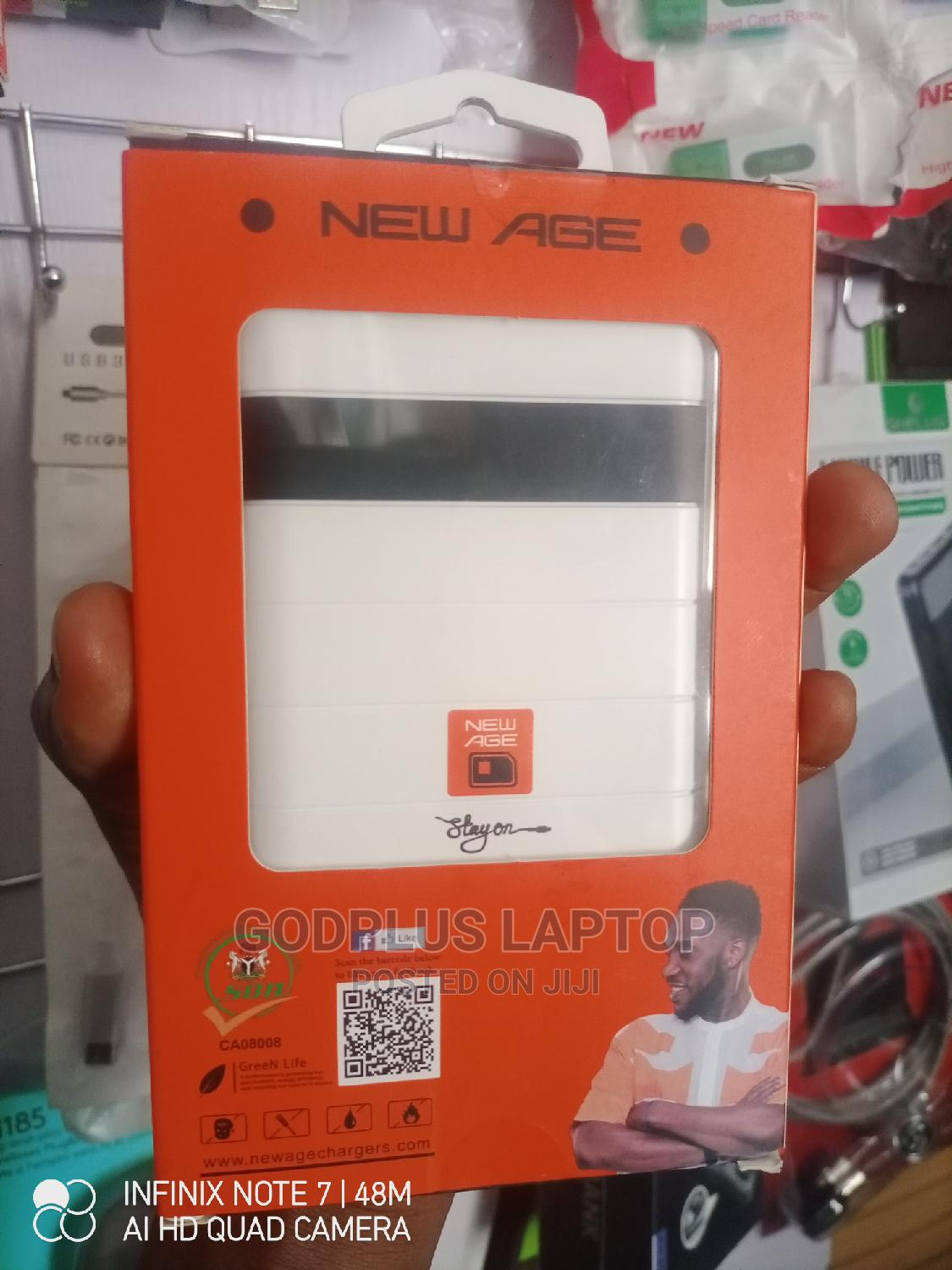 New Age 10500mah Power Bank   Accessories for Mobile Phones & Tablets for sale in Ikeja, Lagos State, Nigeria