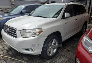 Toyota Highlander 2008 Limited White | Cars for sale in Lagos State, Surulere