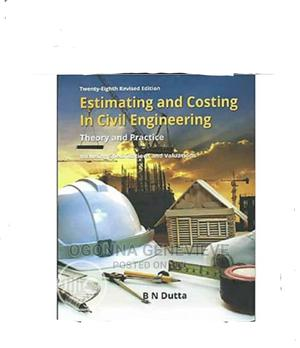 Estimating and Costing in Civil Engineering 25th Edition   Books & Games for sale in Lagos State, Yaba