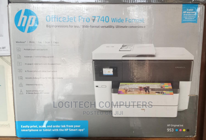 HP Officejet 7740 Wide Format Printer