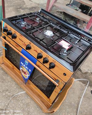 New Maxi Stand Cooker 5 Gas Burner Auto Ignition With Oven   Kitchen Appliances for sale in Lagos State, Ojo
