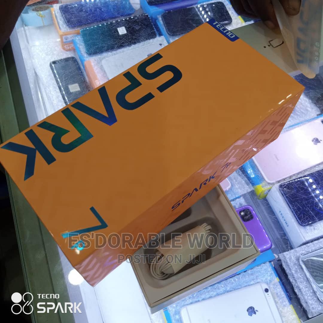 New Tecno Spark 7P 64 GB Blue   Mobile Phones for sale in Ikeja, Lagos State, Nigeria