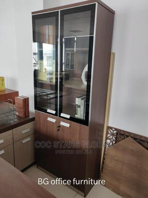 Wooden Office Wardrobe | Furniture for sale in Lagos State, Yaba