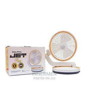 Multi Directional Rechargeable Desk Fan With Lighting | Home Appliances for sale in Lagos State, Ogba