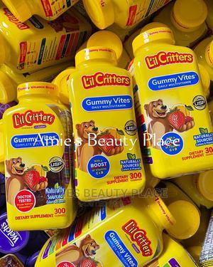 Little Critters Kids Daily Multivitamin C D Gummies 300ct | Vitamins & Supplements for sale in Lagos State, Lekki