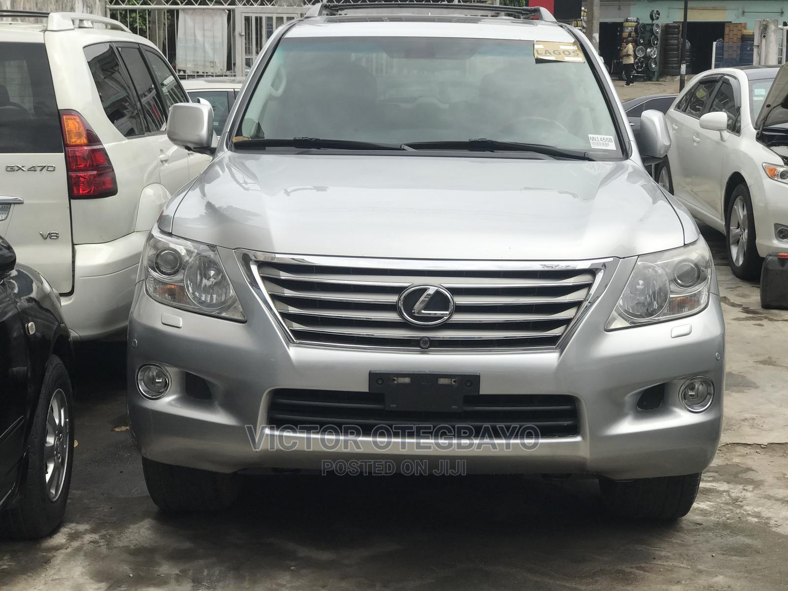 Lexus LX 2010 570 Silver | Cars for sale in Ikeja, Lagos State, Nigeria