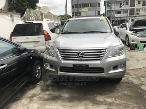 Lexus LX 2010 570 Silver | Cars for sale in Lagos State, Ikeja