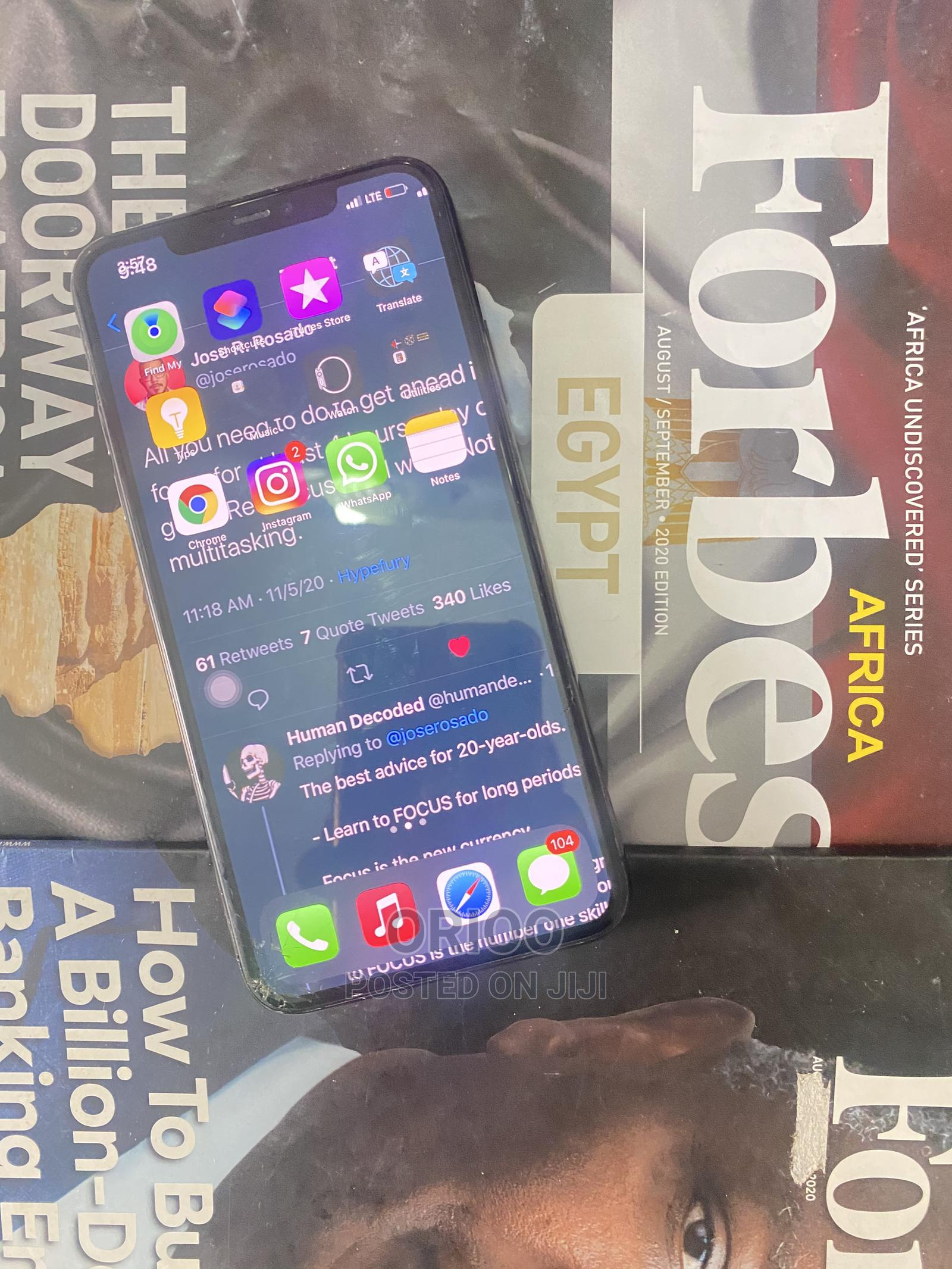 Apple iPhone 11 Pro Max 64 GB Gray | Mobile Phones for sale in Lekki, Lagos State, Nigeria