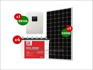 Durable 5KVA Complete Solar System (Rush Sale! +Bonuses)   Solar Energy for sale in Ogun State, Ado-Odo/Ota