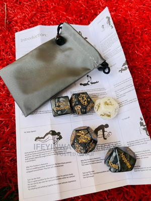 5 Marble Sex Dice Set | Books & Games for sale in Abuja (FCT) State, Kubwa