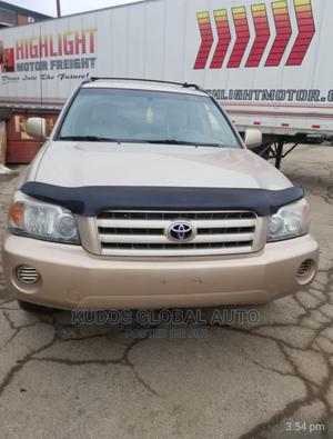 Toyota Highlander 2007 Gold | Cars for sale in Lagos State, Ajah