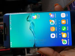 Samsung Galaxy S6 Edge Plus 32 GB Blue | Mobile Phones for sale in Lagos State, Abule Egba