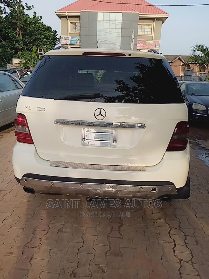 Mercedes-Benz M Class 2006 White   Cars for sale in Ikorodu, Lagos State, Nigeria