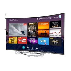 "Polystar 43"" Curved Smart LED TV + Free Wall Bracket   TV & DVD Equipment for sale in Lagos State, Lekki"