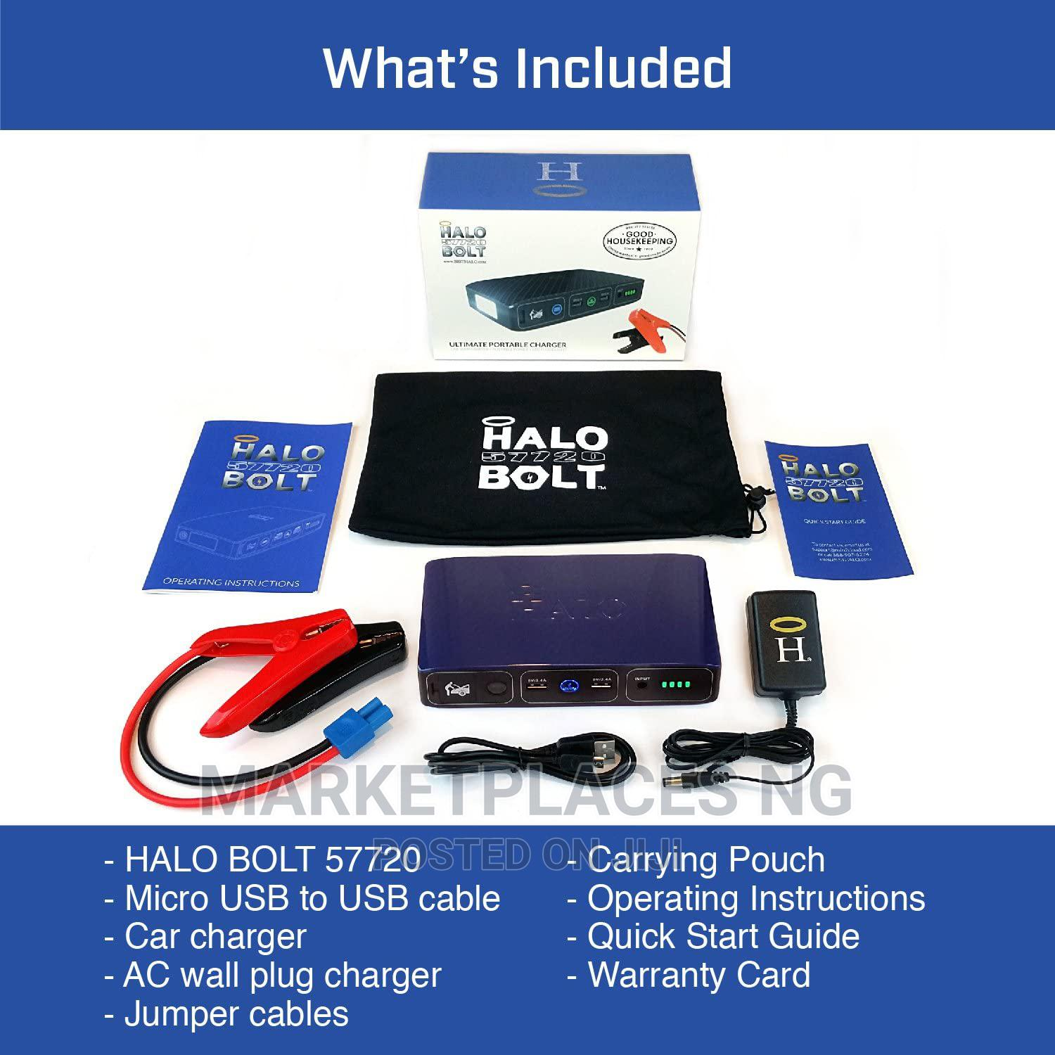 Halo Bolt Jump Starter for Cars and Trucks   Accessories for Mobile Phones & Tablets for sale in Oshodi, Lagos State, Nigeria