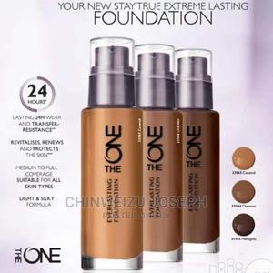 Chestnut Illuskin Aquaboost Foundation SPF20 Oriflame Sweden | Makeup for sale in Lagos State, Ipaja