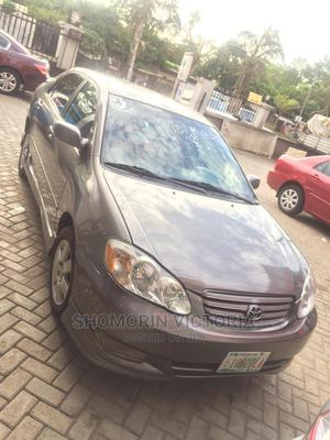 Toyota Corolla 2003 Gray | Cars for sale in Lagos State, Ojodu