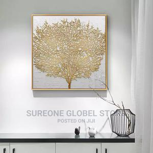 Style Golden Rich Tree Artwork With Quality Frame   Arts & Crafts for sale in Lagos State, Ikoyi