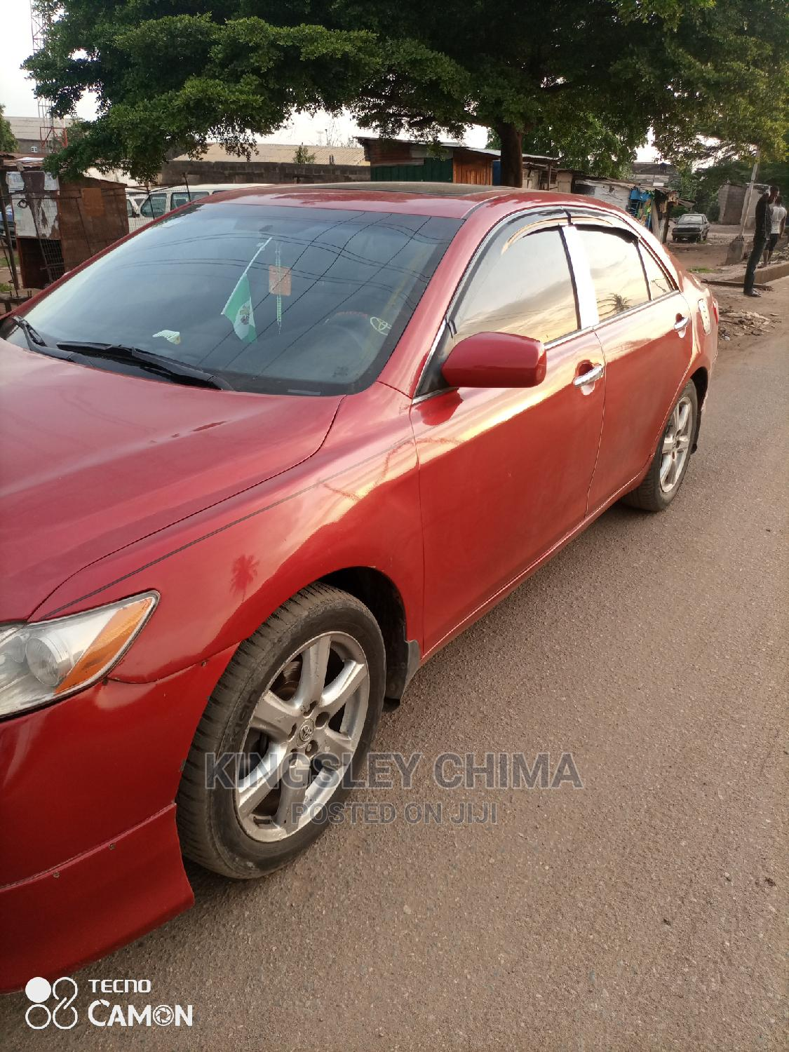 Toyota Camry 2008 2.4 SE Automatic Red   Cars for sale in Ikorodu, Lagos State, Nigeria