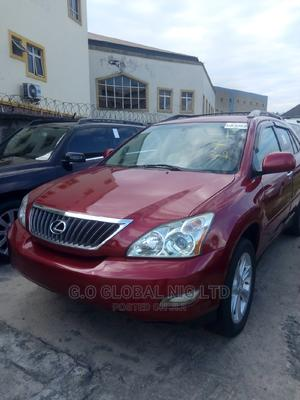 Lexus RX 2009 350 4x4 Red   Cars for sale in Rivers State, Port-Harcourt