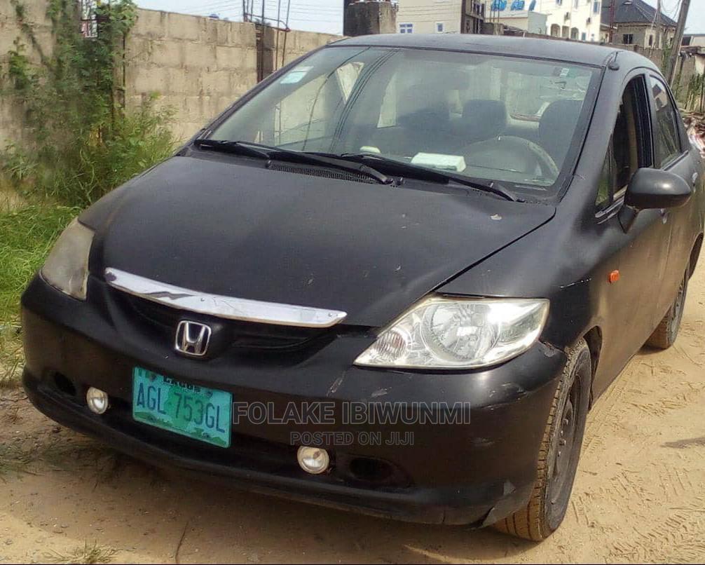 Honda City 2005 Black | Cars for sale in Ikorodu, Lagos State, Nigeria