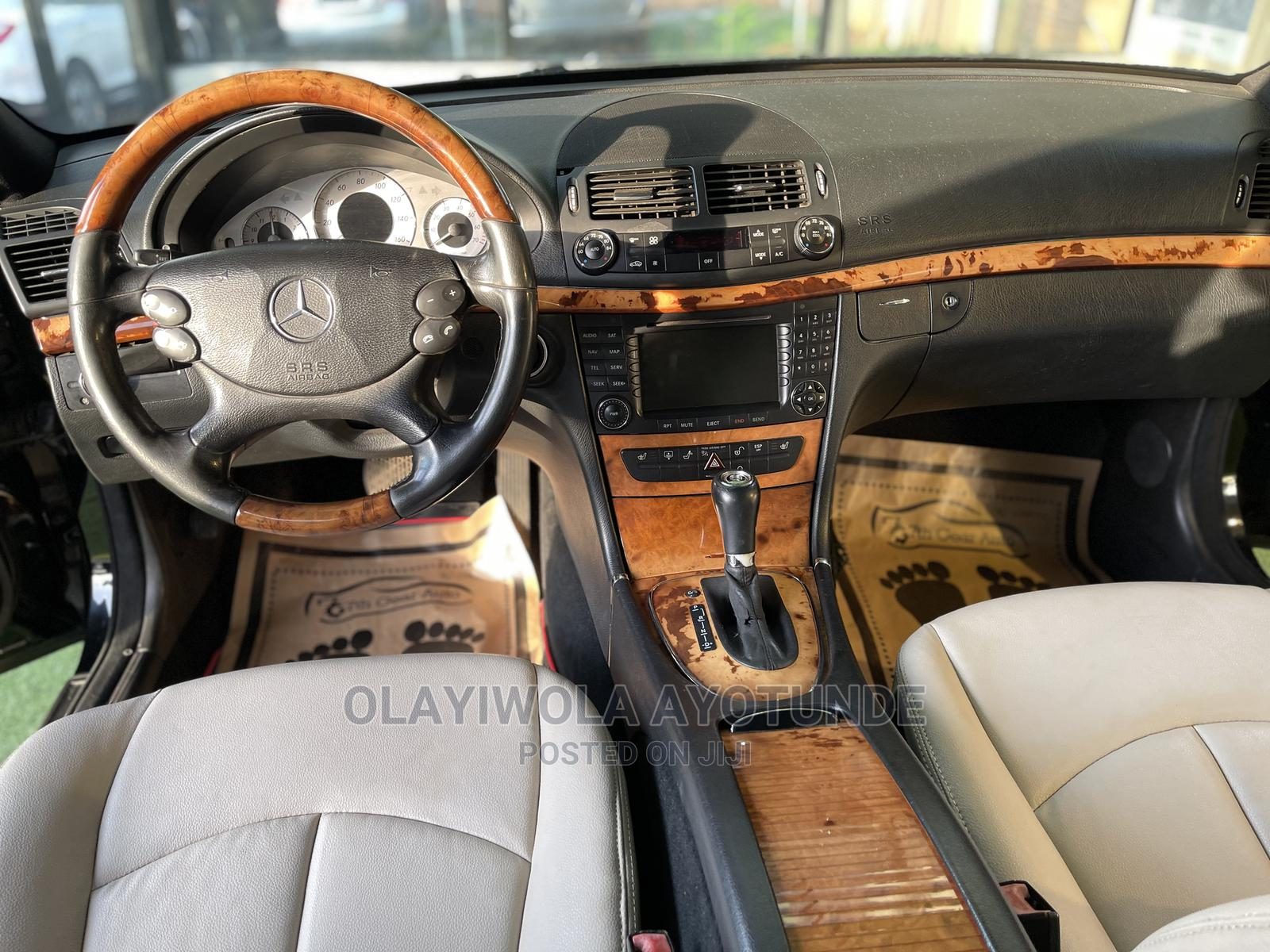 Mercedes-Benz E350 2008 Black   Cars for sale in Central Business District, Abuja (FCT) State, Nigeria