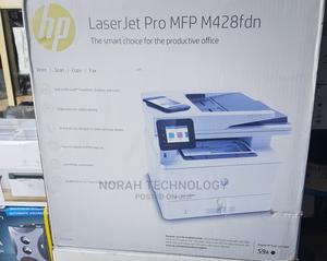 Hp Laserjet Pro MFP M428fdn   Printers & Scanners for sale in Lagos State, Ikeja